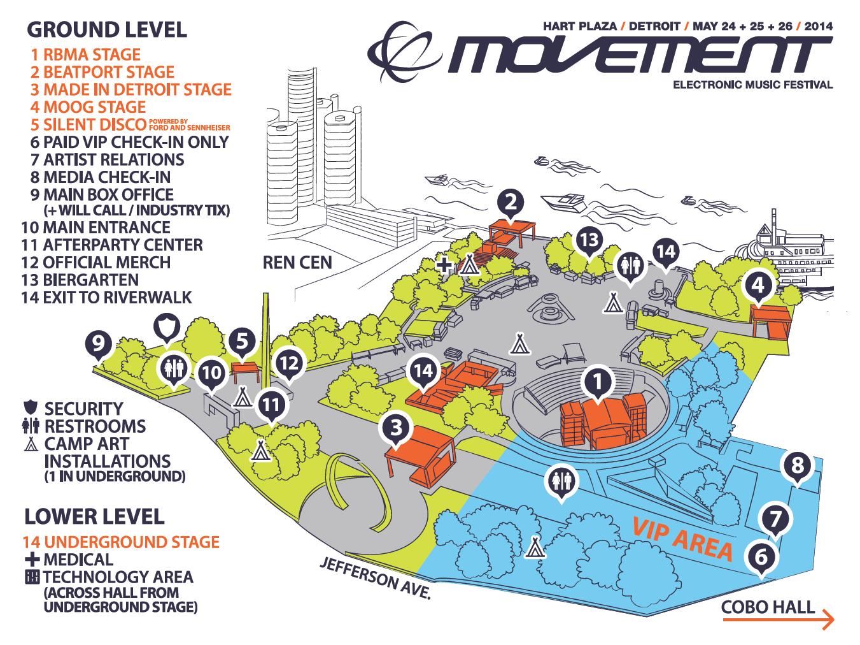 Movement Electronic Music Festival: Day 1 | Detroit Music