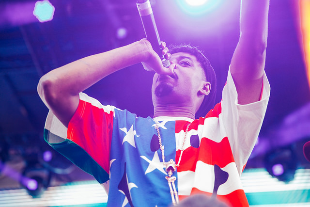 Danny Brown on the Red Bull Music Academy Stage (Nick Kassab | Detroit Music Magazine)