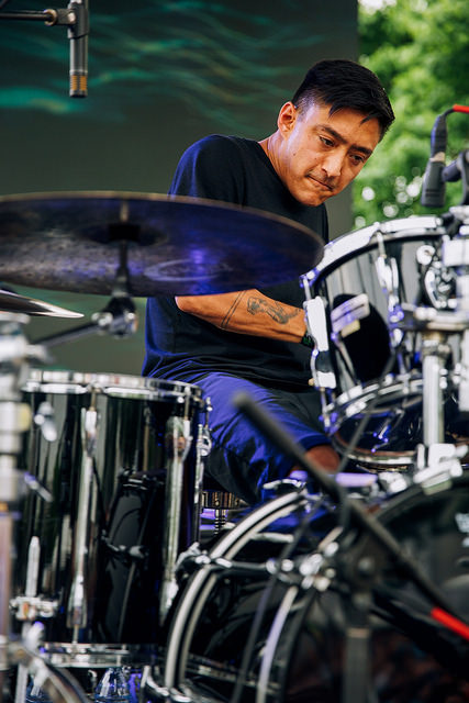 Shigeto on the Thump Stage (Nick Kassab | Detroit Music Magazine)