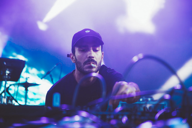 Brodinski on the Red Bull Music Academy Stage (Nick Kassab | Detroit Music Magazine)
