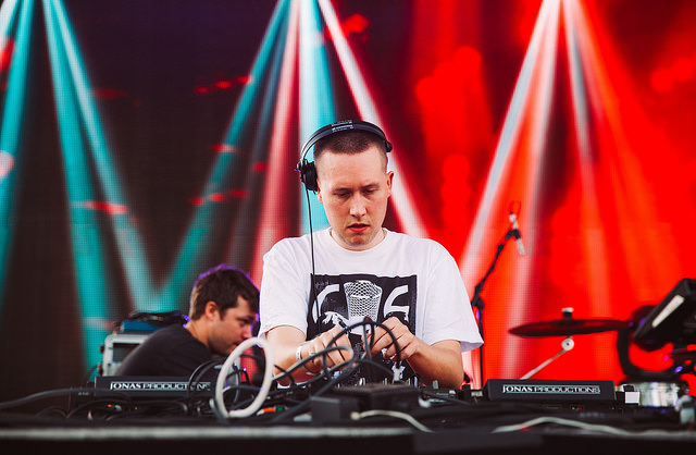 Joy Orbison on the Red Bull Music Academy Stage (Nick Kassab | Detroit Music Magazine)