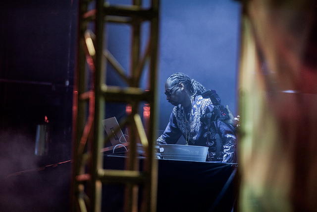 DJ Snoopadelic on the Movement Stage (Nick Kassab | Detroit Music Magazine)